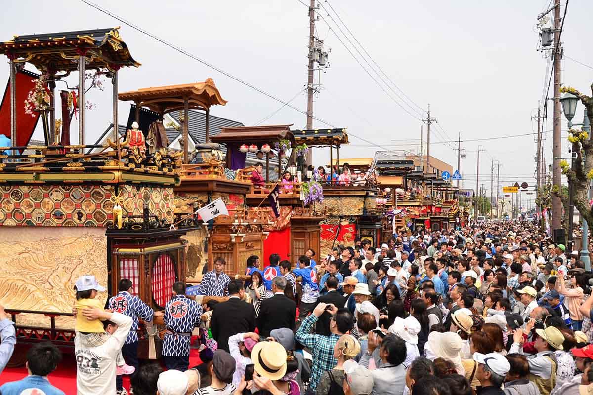 竹鼻祭り 〜県指定重要有形民俗文化財