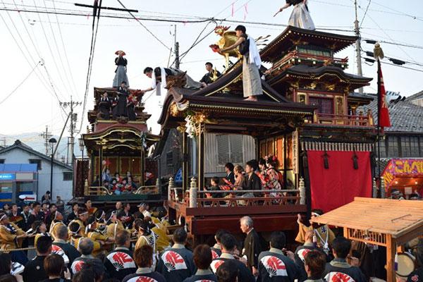 垂井曳軕まつり 〜県重要有形民俗文化財